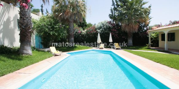 Sea View Villa with a Cottage in Almancil-147